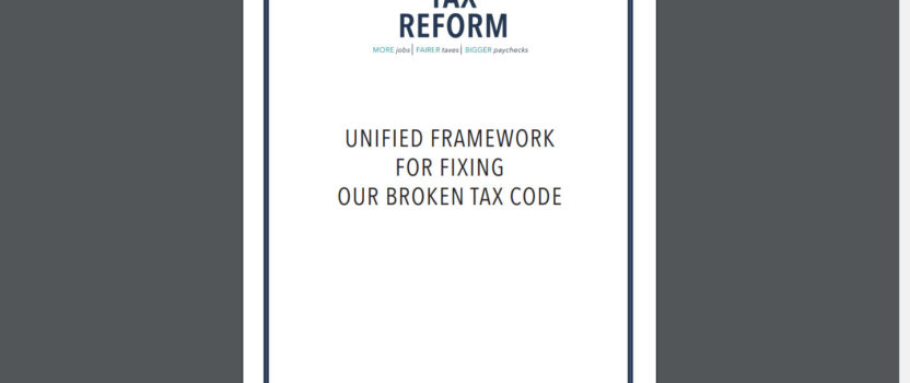 CASE Statement on President's Tax Reform Proposal
