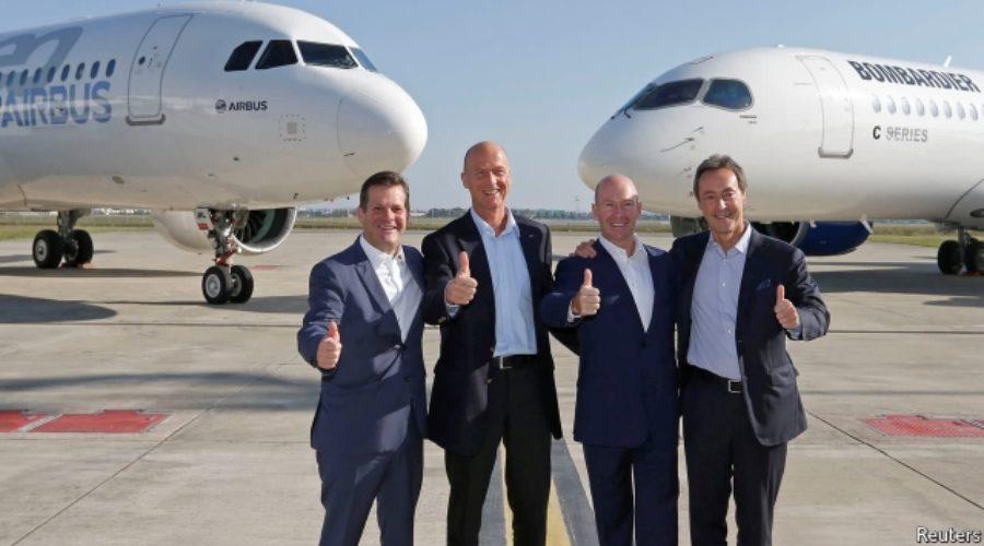 U.S. Travelers Win Benefit of C Series Travel with Bombardier Partnership